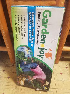 Garden Joy Folding Seat and Kneeler for Sale in La Mesa, CA