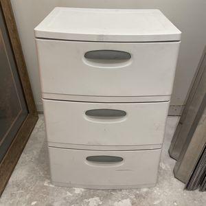 """Sterilite 3 Drawer Storage Cabinet Organizer 19""""x20""""x29"""" for Sale in Fort Lauderdale, FL"""