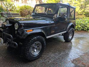 1984 Jeep CJ-7 for Sale in Tacoma, WA