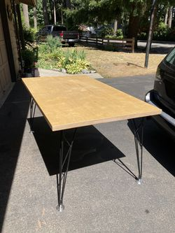 Table with Fancy French Legs for Sale in Bothell,  WA