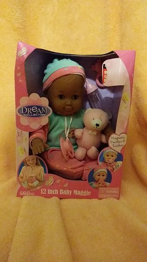 "RARE African American vintage 12"" Baby Maggie from the Dream Collection of GIGO Toy for Sale in Belleville, MI"