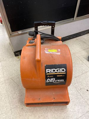 Rigid brand Three speed air mover for Sale in Jackson, MS
