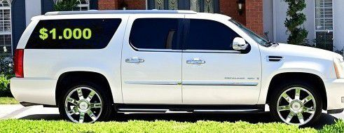 💚💲1OOO I'm selling URGENT!SuperSuv 2OO8 Cadillac Escalade🍁Runs and drives great. for Sale in Arlington,  VA