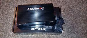 MAJESTIC CLASS D POWER AMPLIFIER MSP 1500.1D for Sale in Phoenix, AZ