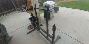 Weight rack dip station for Sale in Fresno, CA