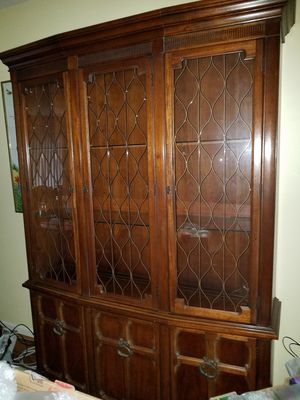 Wood China Hutch for Sale, used for sale  Spring Lake, NJ