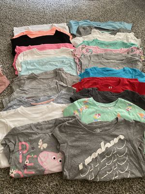 Toddler girl T-shirts,tank tops, dresses - 32 pcs for Sale in Norco, CA