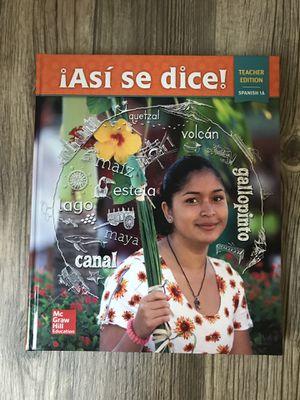 Spanish book for Sale in Phoenix, AZ