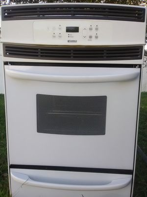 Kenmore rangetop stove and oven with hood for Sale in Saint Albans, WV