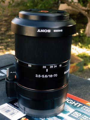 Sony A Alpha Mount 16 - 80 mm Lense for Sale in Orange, CA