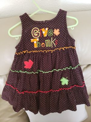 Thanksgiving Dress 24months for Sale in Pasadena, TX