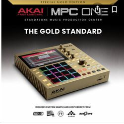 MPC One Gold Edition ( Limited) Brand New Sealed for Sale in Vista,  CA