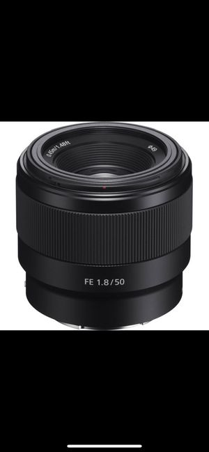 Sony 50mm Used once for Sale in Newark, CA