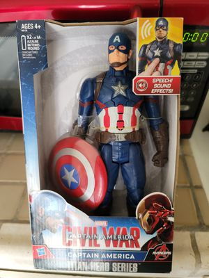 Captain America Action Figure New for Sale in Hawthorne, CA
