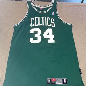 Vhtf Nike Authentic Adult 44 Green Paul Pierce Boston Celtics Jersey Clean Rare for Sale in Rochester, MI