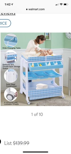Baby changing table/bath for Sale in Canton, MA