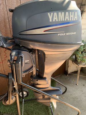 Yamaha 25hp four stroke for Sale in San Jose, CA