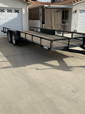 20' Double Axle Trailer for Sale in Escondido, CA