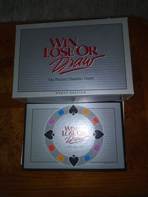 Board Game Win, Lose or Draw for Sale in Raleigh, NC