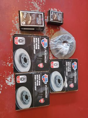 Brand new full set of front/rear rotors and brake pads front/rear . Brand new for Sale in Rockville, MD