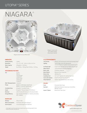 Caldera Niagara 7 person hot tub for Sale in Miami, FL