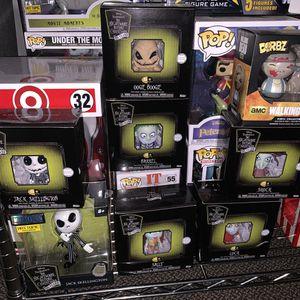 Disney nightmare before Christmas funko & metalfigs jack skeleton pops ! for Sale in Bell, CA