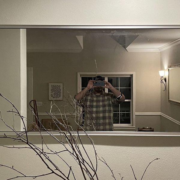 6.5 feet times 3 foot mirror