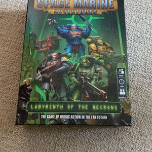 Space Marine Adventures Board Game for Sale in Encinitas, CA
