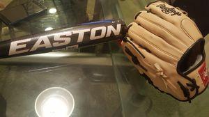 Baseball bat & baseball glove for Sale in Fresno, CA