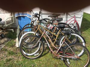 Five bikes for sale 120 or best offer for Sale in Avon Park, FL