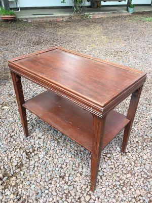 Mahogany Side Table for Sale in Pinetop, AZ