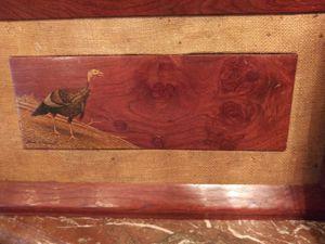 Pair of Vintage Solid wood hog painting on board for Sale in San Antonio, TX