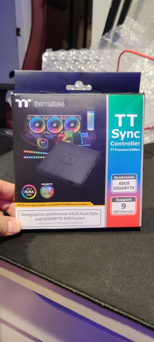Thermaltake TT Sync Controller up to 9 devices for Sale in Falls Church, VA
