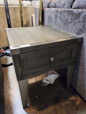Ashley Furniture Dark Gray End Table for Sale in Santa Ana, CA