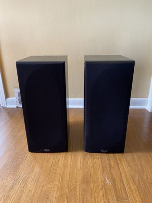 Polk Audio Black Book Shelf Speakers RT55i for Sale in Seattle, WA