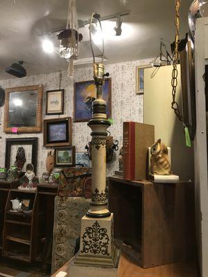 Antique vintage Italian lamp boho bohemian decor for Sale in San Diego, CA