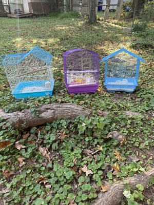 3 small bird cages for Sale in Durham, NC