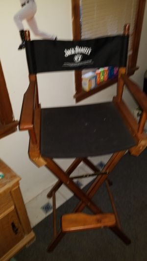 Jack daniels director chair for Sale in Front Royal, VA