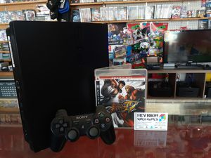 Ps3 playstation 3 with streetfighter 4 for Sale in Houston, TX