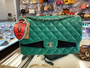 Chanel Jumbo Double Flap. Green for Sale in Beaverton, OR