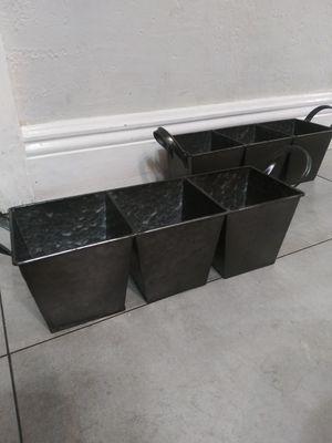 Galvanized storage container for Sale in Miami, FL