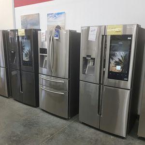 SAMSUNG Screen Refrigerator 50%OFF MSRP for Sale in Pomona, CA