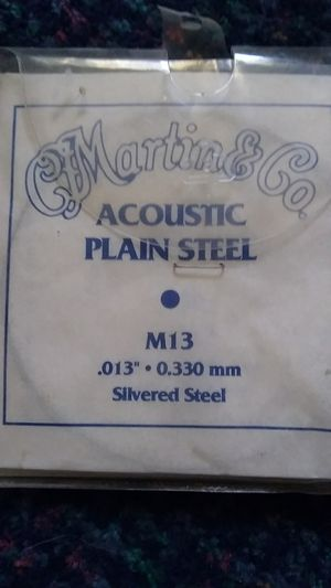 Acoustic guitar strings for Sale in Marengo, OH