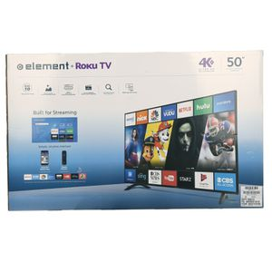 "Element 50"" 4k Roku TV for Sale in Wellington, KS"