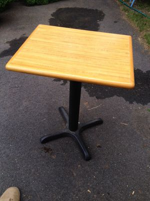 "20x24 top 29"" restaurant table for Sale in Warwick, RI"