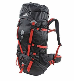 Scandinavian Gear 65l Backpack - Multi-day Pack for Hiking, Backpacking with Rain Cover for Sale in San Diego, CA