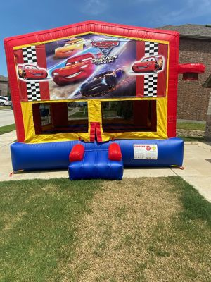 Cars Bounce House for Sale in Dallas, TX