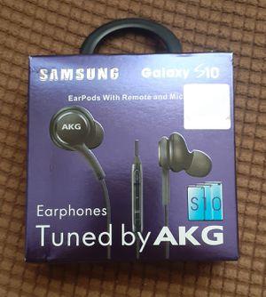 Samsung S10 Earphones, Samsung Original Earphones by AKG, Samsung AKG Earphones, Samsung AKG, Samsung, AKG, Earphones for Sale in Monterey Park, CA