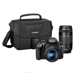 Canon DSLR Rebel T6 Camera with 2 lenses and bag for Sale in Glen Burnie, MD
