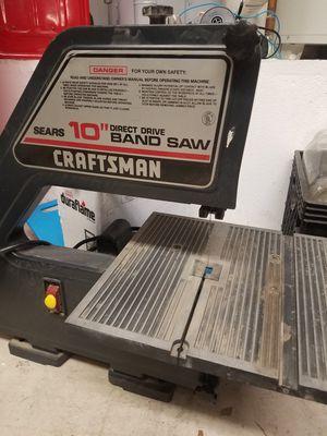 "10"" BAND SAW for Sale in Murrieta, CA"